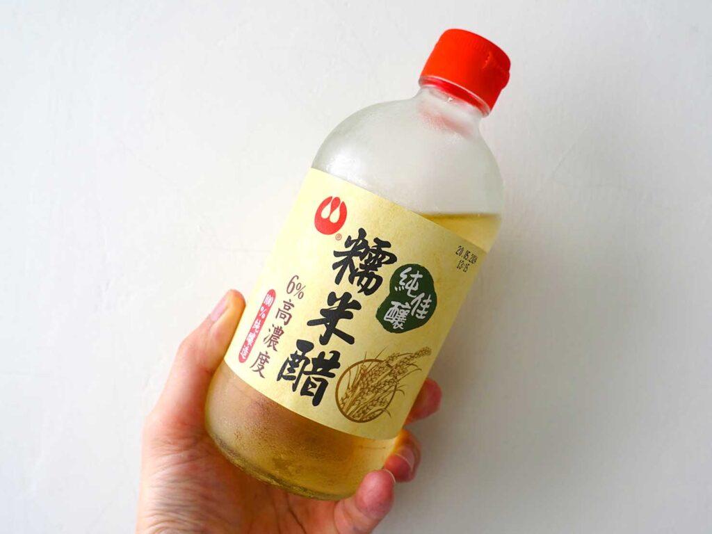 台湾での自炊に活躍中の調味料「萬家香 純佳釀糯米醋」