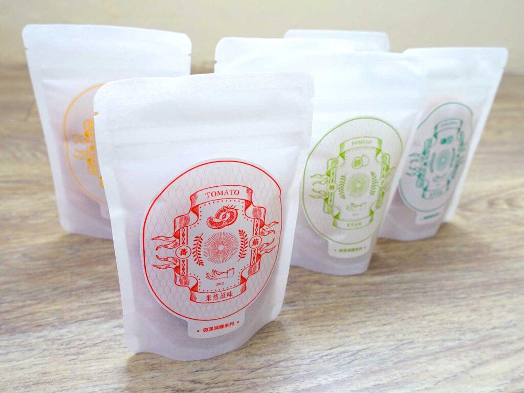 台湾のおすすめドライフルーツブランド「果然滋味」の便利包パッケージ