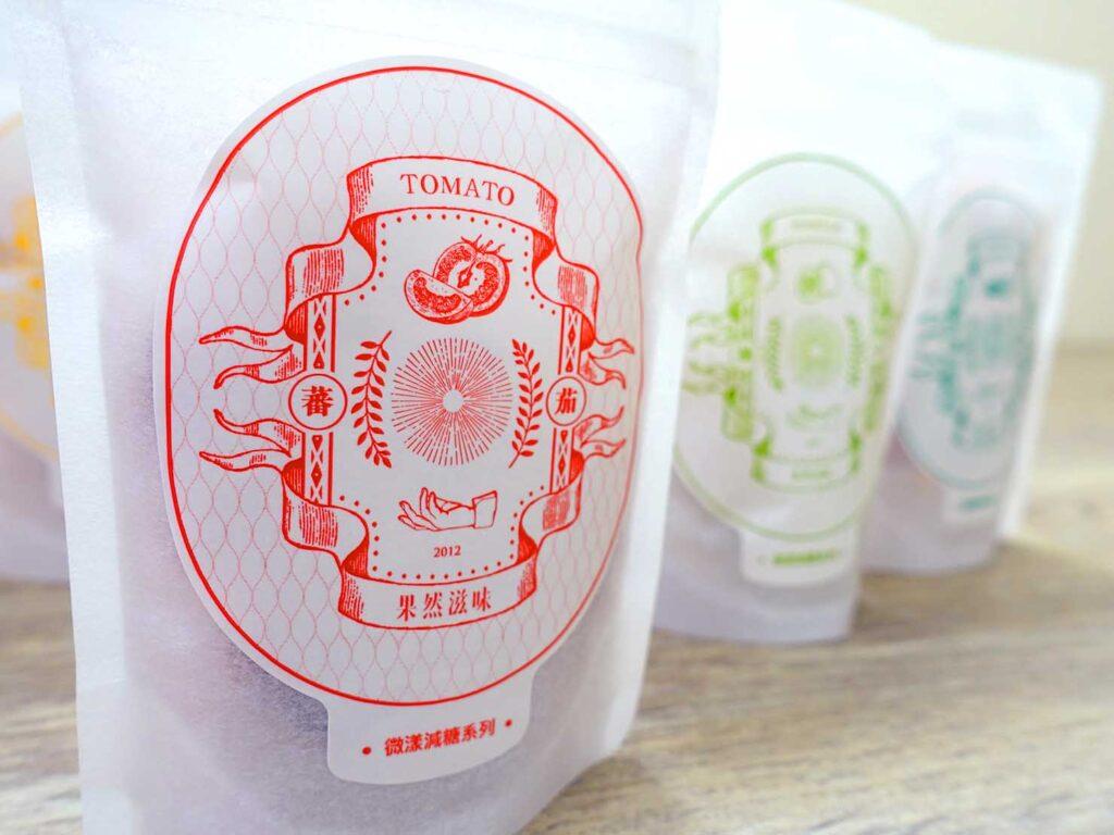 台湾のおすすめドライフルーツブランド「果然滋味」のロゴ
