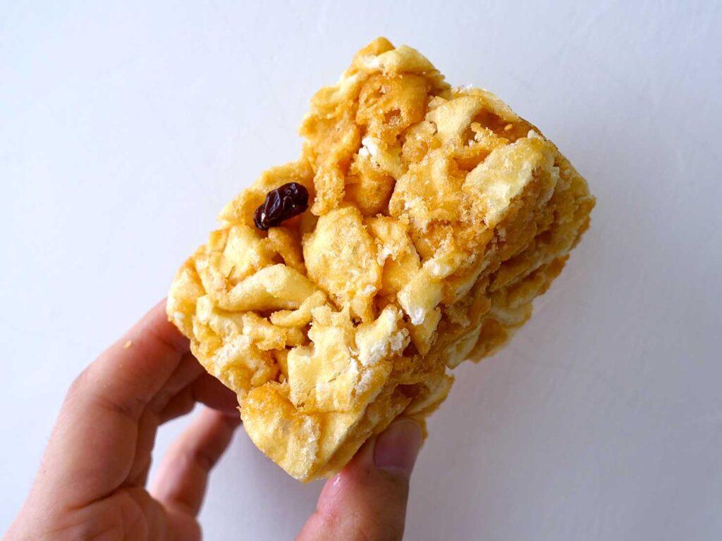 台湾の伝統菓子「沙琪瑪」