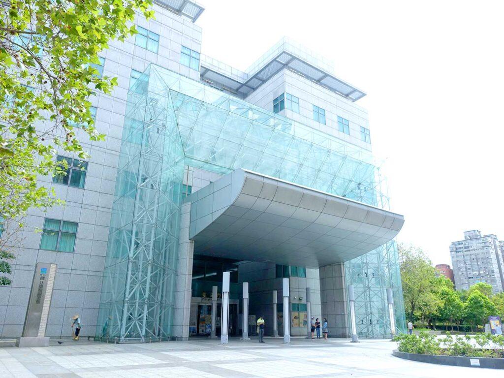 「國立台灣圖書館」の外観